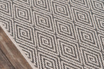 Downeast by Erin Gates DOW-6 Charcoal Rug
