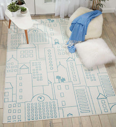 DWS02 Miles DS202 Ivory Rug