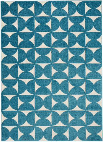 DWS03 Harper DS301 Blue Rug