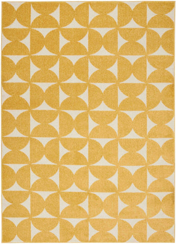 DWS03 Harper DS301 Yellow Rug