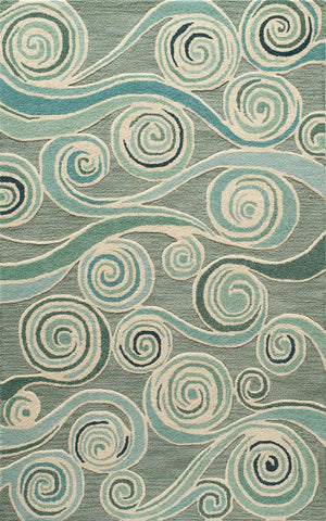 Dunes DUN 8 Light Blue Rug