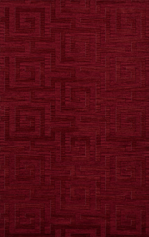 Dover DV13 Rich Red Custom Rug