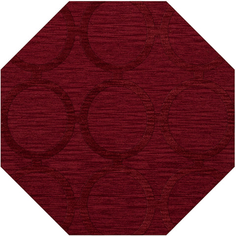 Dover DV14 Rich Red Custom Rug