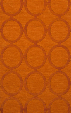 Dover DV14 Orange Custom Rug