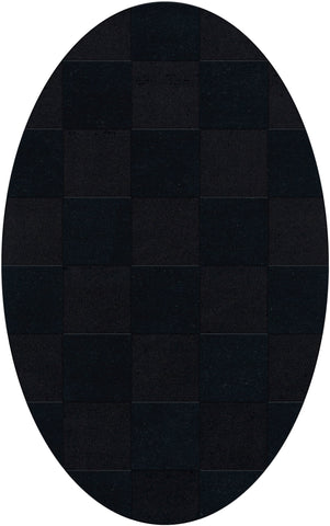 Dover DV15 Black Custom Rug