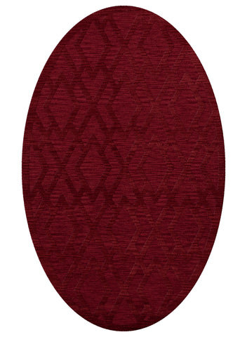 Dover DV1 Rich Red Custom Rug