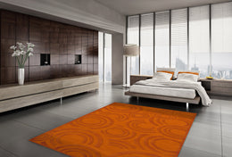Dover DV3 Orange Custom Rug