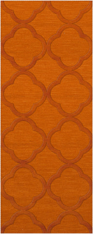 Dover DV8 Orange Custom Rug