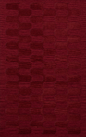 Dover DV9 Rich Red Custom Rug