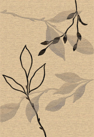 Eclipse 63008 6333 Creme Rug