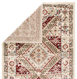 Elysian ELY02 Gadot Ivory/Red Rug
