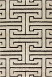 Enchant EN 28 Ivory / Dark Brown Rug