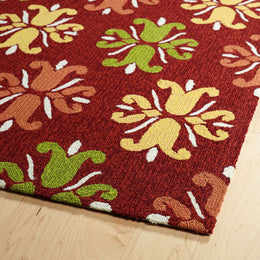 Escape Esc07 25 Red Rug