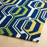 Escape  ESC08 22 Navy Rug