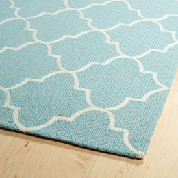 Escape  ESC09 17 Blue Rug