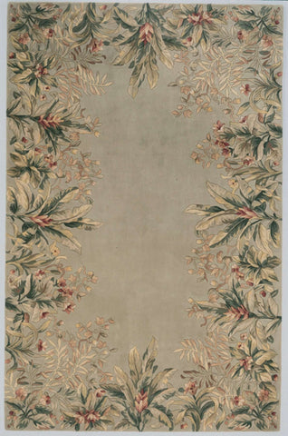 Emerald 9026 Tropical Border Sage Rug