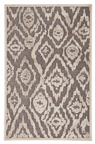 Fables FB166 Blayne Angora/Brushed Nickel Rug