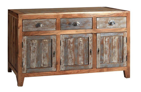 Mango Wood Hand Crafted G05136 Sideboard