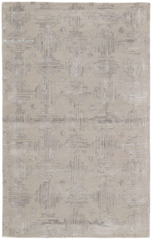 Genesis GES14 Banister Taupe / Silver Rug