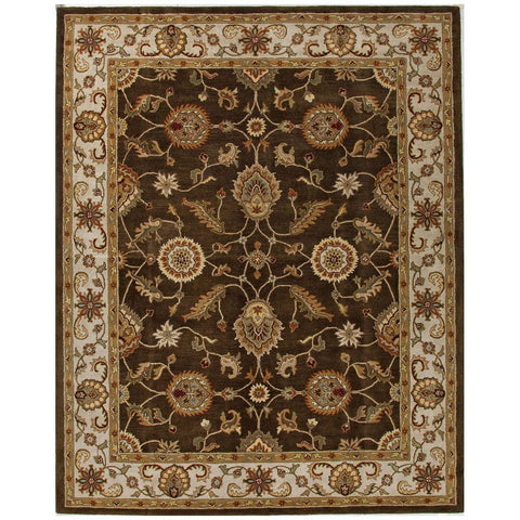 Mythos MY01 Maia Cocoa Brown / Dark Ivory Rug