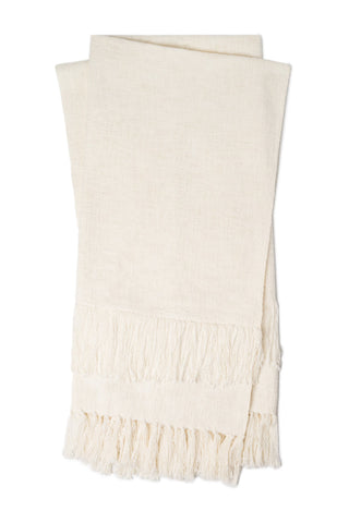 Magnolia Home Jovi T1037 Ivory Throw Blanket