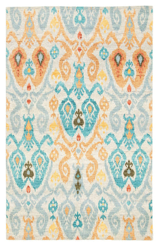 Liberty LIB05 Elle Dawn Blue/Bronze Mist Rug