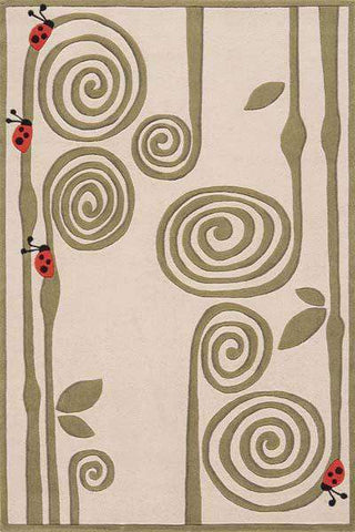 Lil Mo Whimsy LMJ 3  Ivory Rug