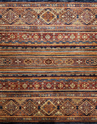 "Reserved Kazack OAK Multi 3'3""x4'10"" Rug"