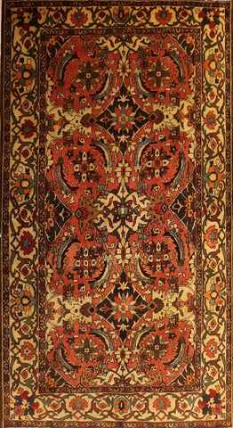 "Persian Hamadan OAK Multi 6'11""x10' Rug"