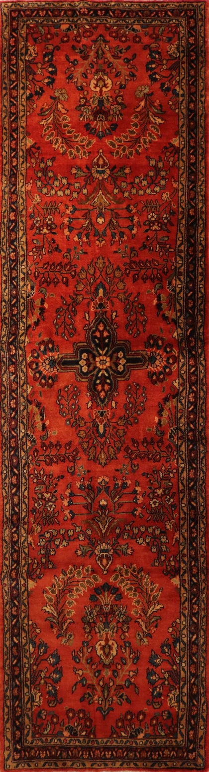 "Persian Hamadan OAK Multi 3'5""x11'6"" Rug"