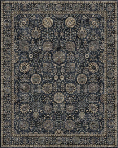 Cochin WV MD 903 G/BLUE/BLUE Custom Rug