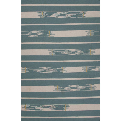 Traditions Made Modern Flat Weave MMF10 Sassandra Teal / Oyster Gray Rug