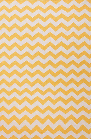 Maroc MR106 Lola Yellow / White Rug