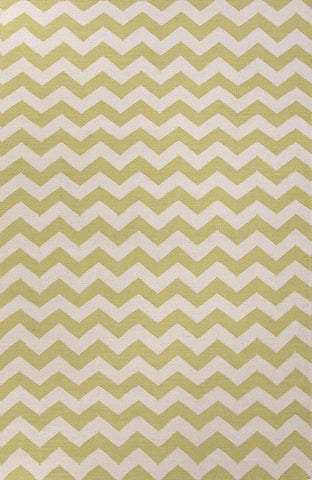 Maroc MR76 Lola Wild Lime / White Rug