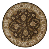 Mythos My01 Maia Cocoa Brown Dark Ivory Rug