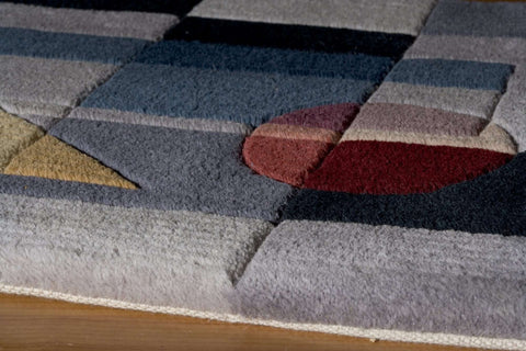 New Wave NW 54 Blue Rug