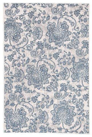 Nashua NSH03 Billings Snow White/Flint Gray Rug