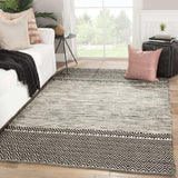 Origins By Nikki Chu ONC03 Canan Whisper White/After Dark Rug