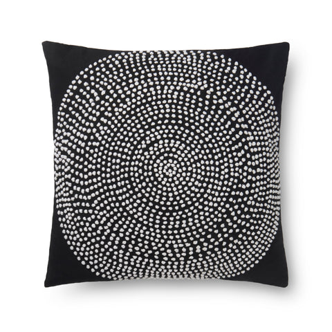 Loloi By Justina Blakeney X P0640 Black Pillow