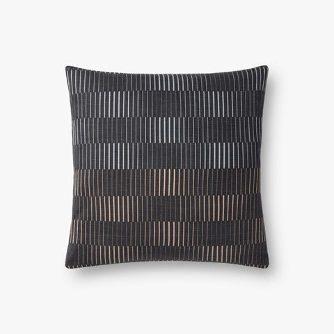 Loloi P0733 Charcoal Pillow