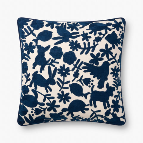 Ellen Degeneres P4043 Navy Pillow