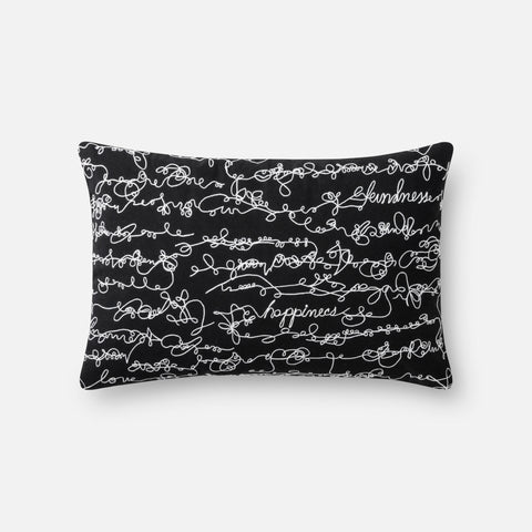 Ellen Degeneres P4085 Black/White Pillow