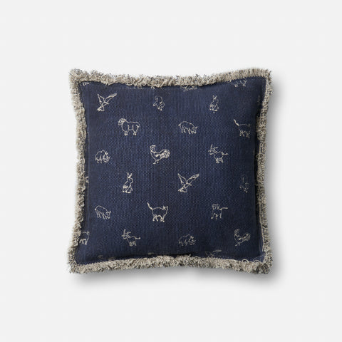 Ellen Degeneres P4047 Navy Pillow