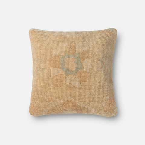 Ellen Degeneres P4036 Gold/Beige Pillow