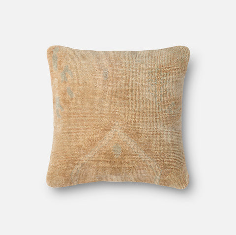 Ellen Degeneres P4037 Beige/Gold Pillow