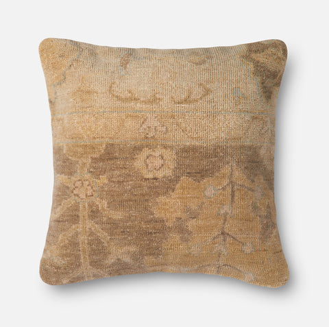 Ellen Degeneres P4038 Brown/Beige Pillow