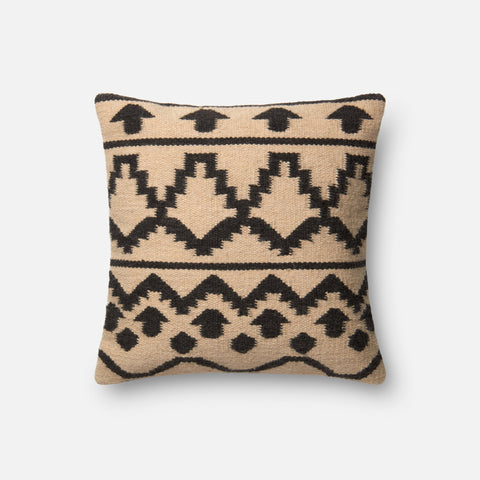 Ellen Degeneres P4018 Ivory/Black Pillow
