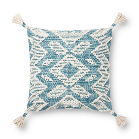 Magnolia Home P1147 Blue/Natural Pillow