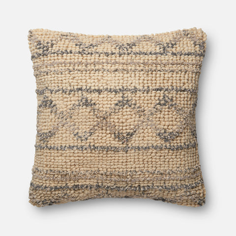Ellen Degeneres P4026 Blue/Natural Pillow