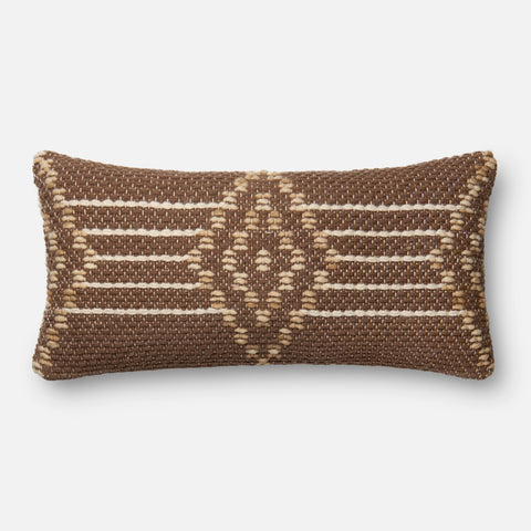 Ellen Degeneres P4028 Brown/Multi Pillow
